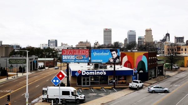 Suffering two bullet wounds to her torso, murder victim Tamara Hodges drove her white 1994 Honda Accord into the parking lot of this Domino's Pizza store on Union Avenue in June 2013, blowing her horn for help and then falling out of her car onto the pavement. Police charged Brandon Taylor, now 28, with first-degree murder. Facing a life sentence, Taylor was set free last month after a jury rejected the first-degree murder charge and instead convicted him of criminally negligent homicide, in part because of doubts raised by detectives' unrecorded interrogation of Taylor. (Houston Cofield/Daily Memphian)