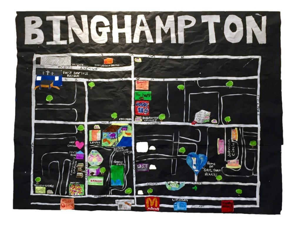strong>A kid's eye view of Binghampton, created by children
