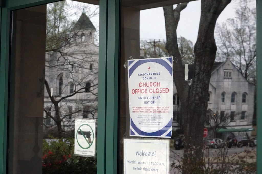 Trinity United Methodist Church in Memphis has closed its doors. (Karen Pulfer Focht/Special to the Daily Memphian)