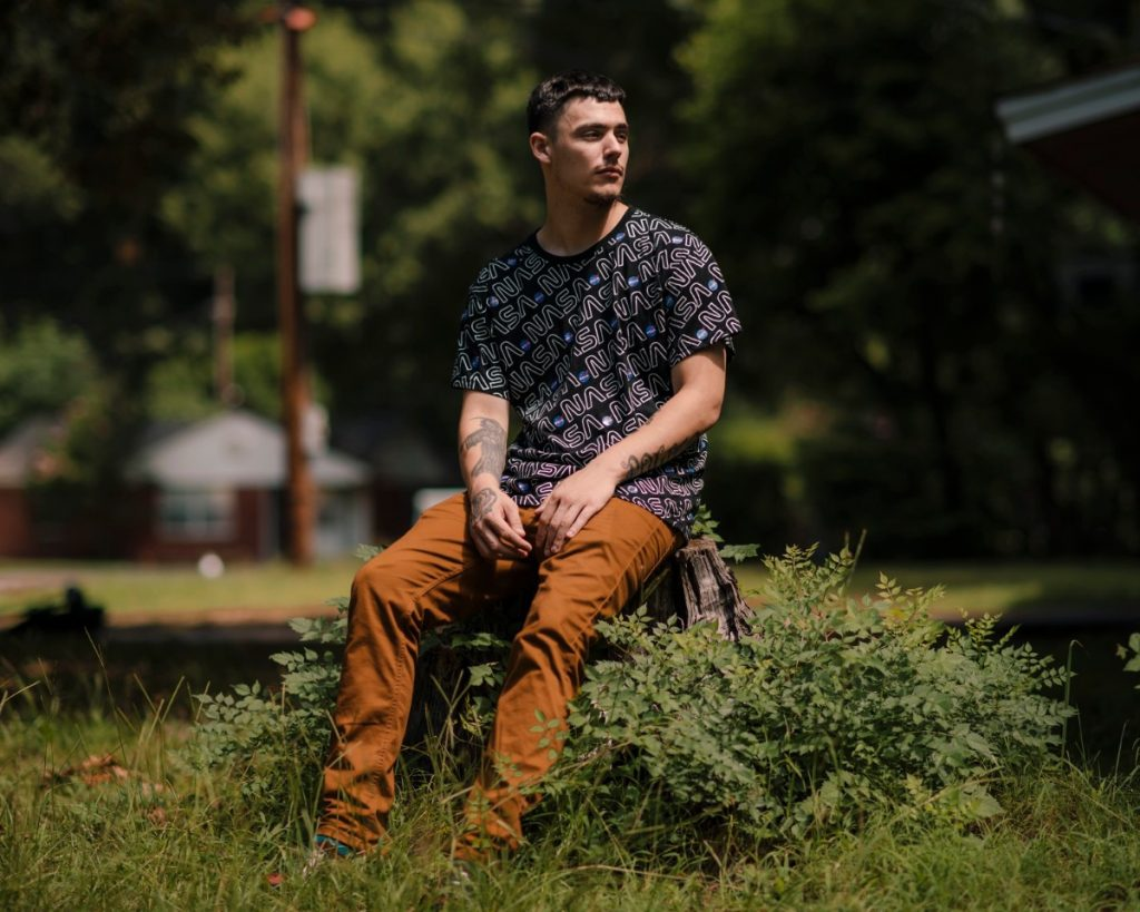"""He shouldn't have pulled out a Taser,"" Joshua Cotez said. ""There was enough officers there. They have enough strength to get me, to get me down."" (Houston Cofield/Special to The Daily Memphian)"