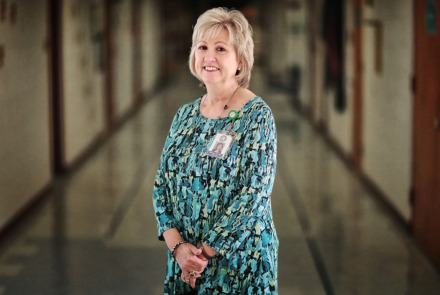 Dr. Dee Weedon is the principal at Keystone Elementary School. (Jim Weber/Daily Memphian)