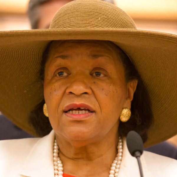 """On May 4, the second-to-last day of this year's Tennessee General Assembly, legislators paused to pay their respects to the late state Sen. Thelma Harper, who died April 22. """"She wasn't smiling, not that day,"""" state Rep. Antonio Parkinson, said later. """"The way they did that bill was disrespectful to Sen. Harper, to all Black legislators, to all Black people in this state."""" The bill, House Bill 580, was approved May 5. (AP File Photo/Erik Schelzig)"""